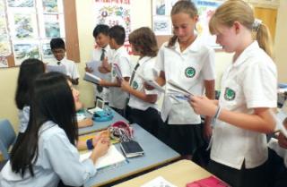 姉妹校でオーストラリアの高校生活と日常生活を体験